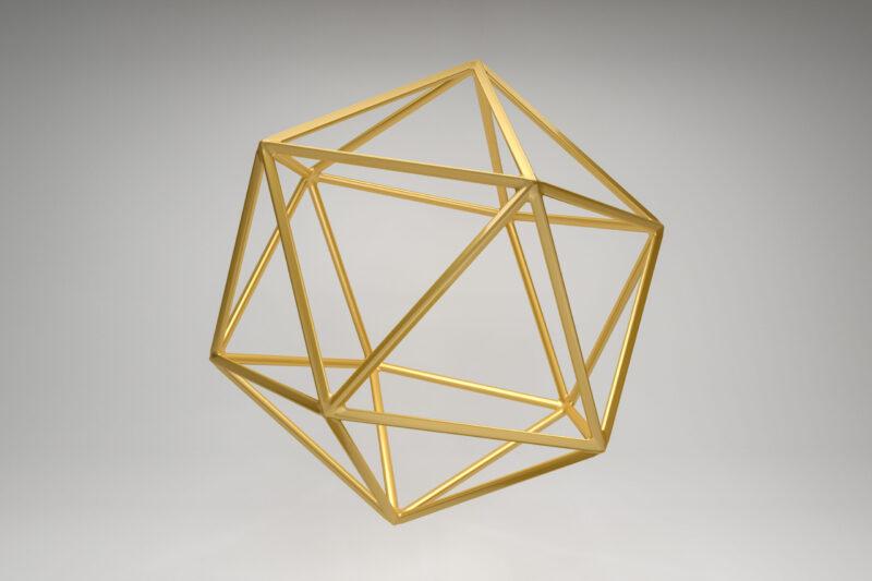 jeden z modeli ruchu w przestrzeni w Laban/Bartenieff